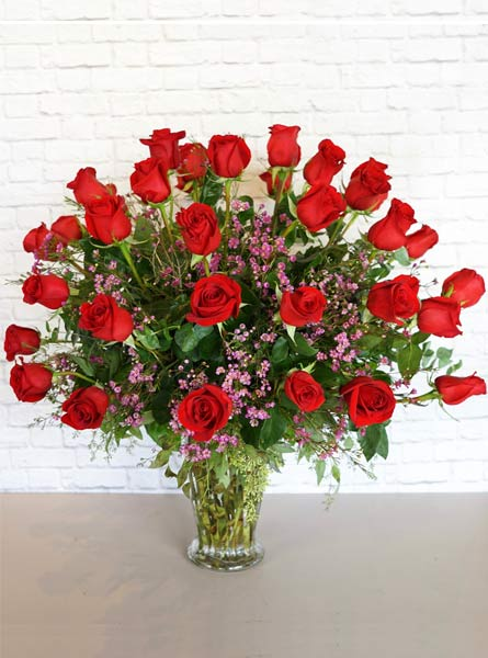 Three Dozen Premium Red Roses in Clarks Summit PA, McCarthy-White's Flowers