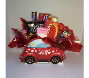LoveBug Snack Basket in Metropolis IL, Creations The Florist