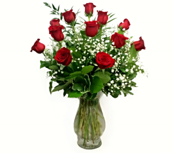 SIGNATURE LONG STEM DOZEN ROSES in Arlington VA, Twin Towers Florist