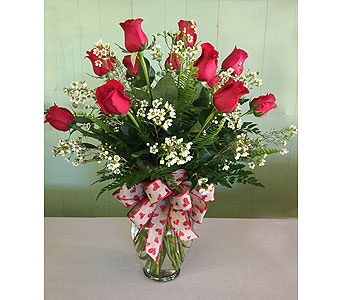 Dozen Roses in Mooresville NC, All Occasions Florist & Boutique