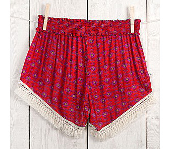 RED LOUNGE SHORTS in Muskegon MI, Wasserman's Flower Shop