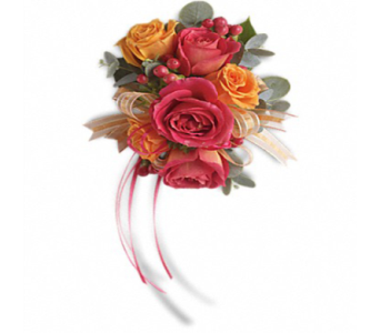 Sunset Beauty Corsage in Indianapolis IN, George Thomas Florist