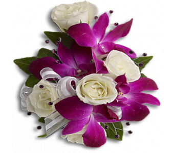 Fancy Orchids & Roses Writstlet in Indianapolis IN, George Thomas Florist