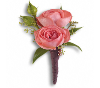 Rose Simplicity Boutonniere in Indianapolis IN, George Thomas Florist