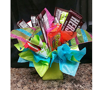 Candy Bouquet in Mitchell SD, Nepstads Flowers And Gifts