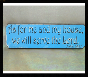 Wooden Plaque in Tyler TX, The Flower Box