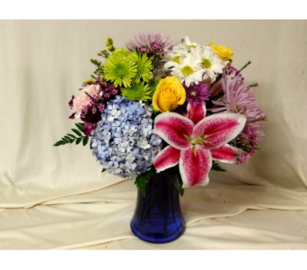 Bright Impressions Vase Arrangement in Hollidaysburg PA, Warner's Florist Gifts & Greenhouse