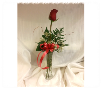 Single Rose bouquet in Corunna ON, LaPier's Flowers
