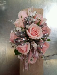 mini rose corsage  in Sitka AK, Bev's Flowers & Gifts