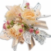 3 rose corsage  in Sitka AK, Bev's Flowers & Gifts