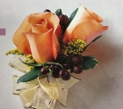 2 rose corsage in Sitka AK, Bev's Flowers & Gifts