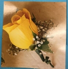 single rose boutonniere  in Sitka AK, Bev's Flowers & Gifts