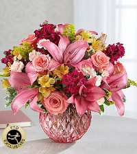 The FTD� Pink Poise� Bouquet in Chelsea MI, Chelsea Village Flowers