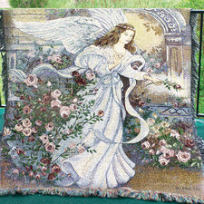 Angel Afghan in Huntington IN, Town & Country Flowers & Gifts