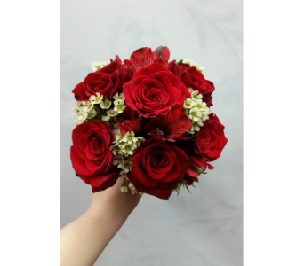 Red And White Bouquet in Rockledge PA, Blake Florists