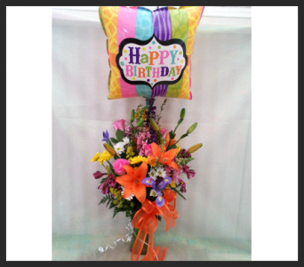 Happy Birthday Bouquet in Tyler TX, The Flower Box
