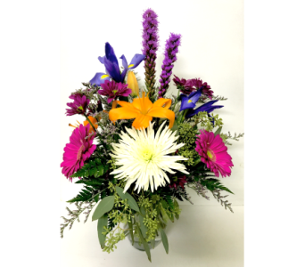Thoughtful Day- 8 inch Vase - All-Around in Wyoming MI, Wyoming Stuyvesant Floral
