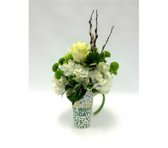 Kiss Me I'm Irish in Belleville ON, Live, Love and Laugh Flowers, Antiques and Gifts