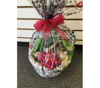 Pomegranate Gift Basket in Sitka AK, Bev's Flowers & Gifts
