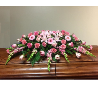 Pink Remembrance in Oklahoma City OK, Flowers By Pat