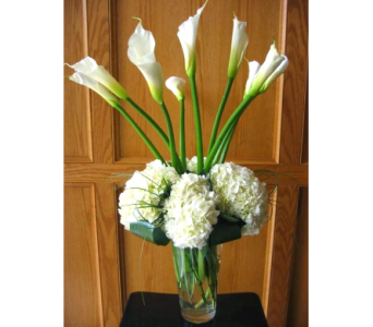 Elegant White Bouquet in Columbia TN, Douglas White Florists