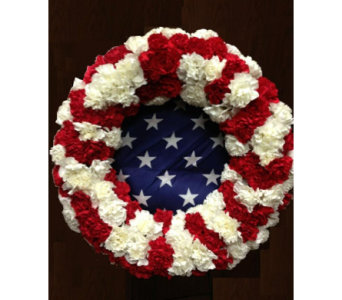 Honor Wreath in Oklahoma City OK, Flowers By Pat