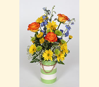 Spring Vase Arrangement in Southampton PA, Domenic Graziano Flowers