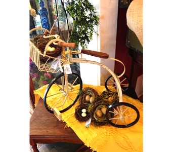Metal Tricycle in Fayetteville GA, Our Father's House Florist & Gifts