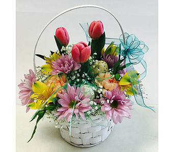 Fresh Easter Basket in Northfield MN, Forget-Me-Not Florist