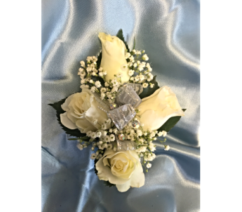 Classic 4 Rose Corsage in Bethesda MD, Suburban Florist
