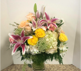 Pastel Pleaser in Asheville NC, Kaylynne's Briar Patch Florist, LLC
