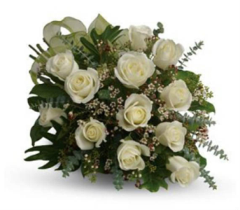 Dreamy White Dozen in Grand Falls/Sault NB, Grand Falls Florist LTD