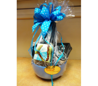 Butterfly Madness Gift Basket in Tampa FL, Buds, Blooms & Beyond
