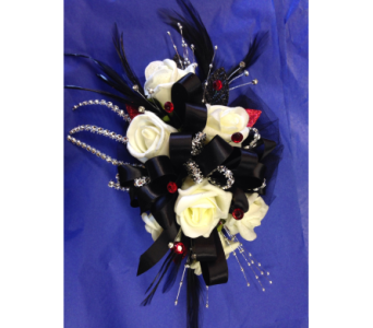 Silk Wrist Corsage  in Portsmouth OH, Kirby's Flowers