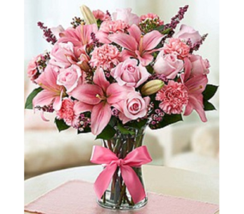 Pink Expression in Largo FL, Rose Garden Florist