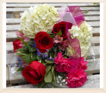 Romantic Bundle in Skowhegan ME, Boynton's Greenhouses, Inc.