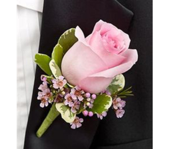 Pink Rose corsage in Campbell CA, Citti's Florists