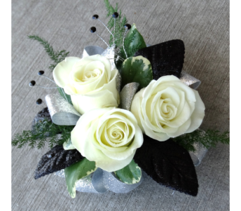 Simply Elegant Wrist Corsage in Schofield WI, Krueger Floral and Gifts
