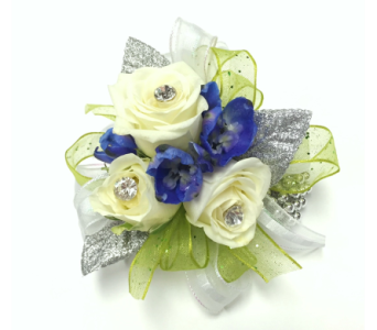 Evening Star Wrist Corsage - Krueger Exclusive in Schofield WI, Krueger Floral and Gifts