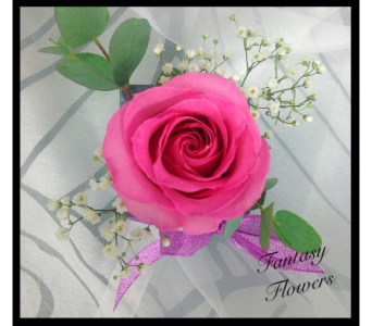 A rosy thank you  in Vermilion AB, Fantasy Flowers