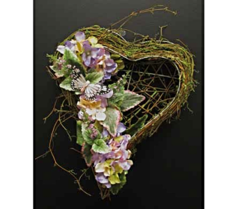 Spring Heart in Amherst NY, The Trillium's Courtyard Florist