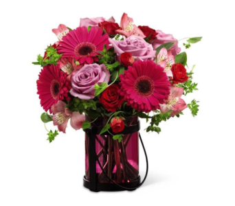 Pink Exuberance™ Bouquet dans Watertown CT, Agnew Florist