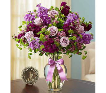 Shades of Purple in Watertown CT, Agnew Florist