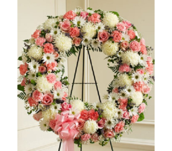 Serene Blessings - Pink & White (Deluxe) in Largo FL, Rose Garden Florist