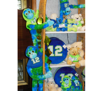 Seahawks Display1 in Renton WA, Cugini Florists