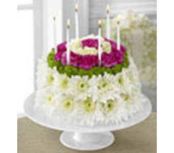 Birthday Floral Cake in Ft. Lauderdale FL, Jim Threlkel Florist