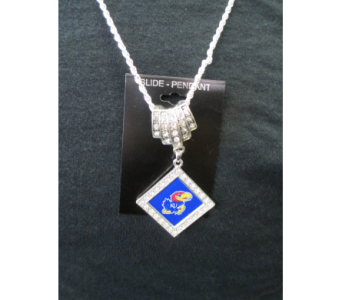 KU Necklace in Derby KS, Mary's Unique Floral & Gift