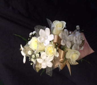 White and Gold in Marlboro NJ, Little Shop of Flowers