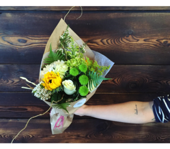 Earthy Bouquet in Cranbrook BC, M J's Floral Boutique