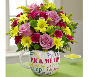 The FTD� Pick-Me-Up� Bouquet in Woburn MA, Malvy's Flower & Gifts